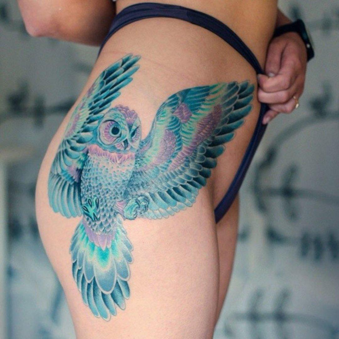 Zachwycające Tatuaże Z Ptakami Górnolotne Dzieła Tatuatorów