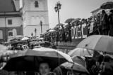 Czarny Protest w Warszawie. Cztery lata temu tysiące kobiet protestowało przeciw zaostrzeniu prawa aborcyjnego
