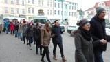 Polonez na rynku w Lublińcu. To piękna tradycja! [ZDJĘCIA]