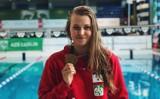 Sukces zawodniczki klubu Gryf Dębica. Dominika Kulaga zdobyła 2 złote medale na Akademickich Mistrzostwach Polski w Pływaniu