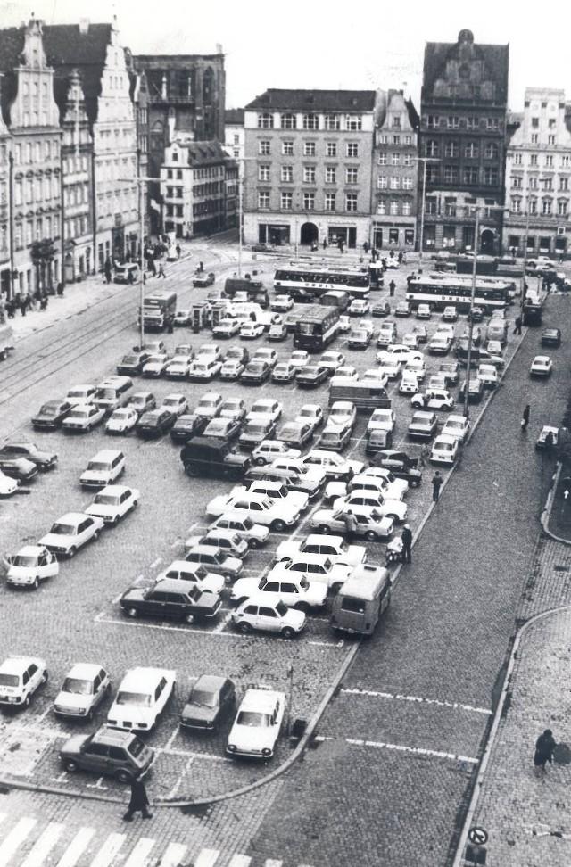 Parking na Rynku we Wrocławiu