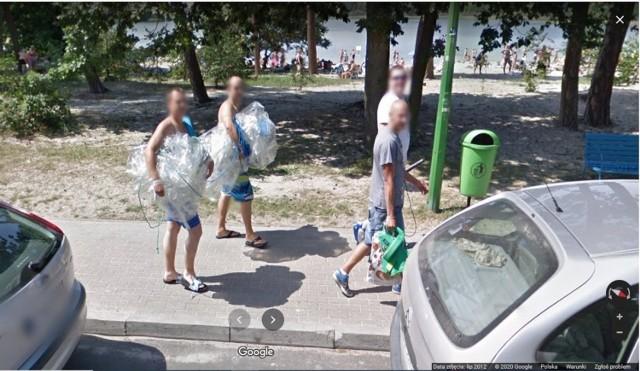 Kamery Google Street View w Przyjezierzu. Rozpoznajesz kogoś znajomego na zdjęciach? A może dostrzegłeś samego siebie?