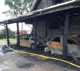 Pożar w Karlikowie: 9-osobowa rodzina straciła dach nad głową. Z pomocą ruszyli ochotnicy z OSP KSRG Karlikowo | NADMORSKA KRONIKA POLICYJNA