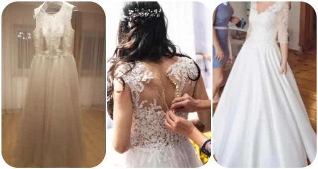 Zakup sukni to jeden z głównych punków przygotowań do ślubu. Okazuje się, że można ona być piękna i wyjątkowa, a zarazem wcale nie trzeba wydać na nią majątku. Na portalu OLX znaleźliśmy dla Was suknie ślubne, które można kupić w Świebodzinie do 500 złotych. W niektórych z nich można iść prosto do ślubu, inne wymagają niewielkiego odświeżenia, a inne poprawek. Wciąż jednak to bardzo opłacalny wybór. Zobaczcie je w galerii!