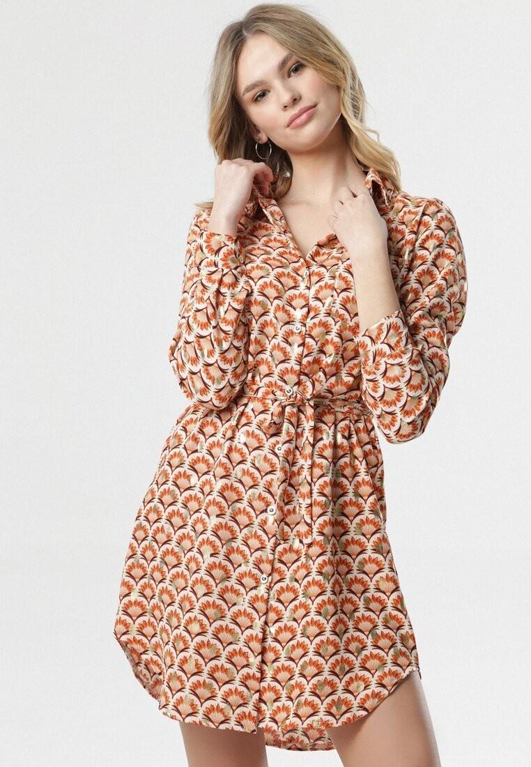 Łososiowa Sukienka Phebe