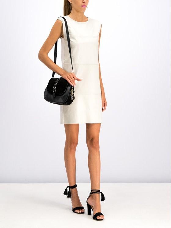 MAX&Co. Sukienka skórzana 63249919 Biały Regular Fit