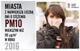 TOP 20 najbardziej toksycznych polskich miast. Tam jest największy smog