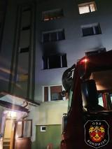 Tragiczny pożar w niedaleko Gorzowa. Jedna osoba nie żyje. Jedna jest w szpitalu