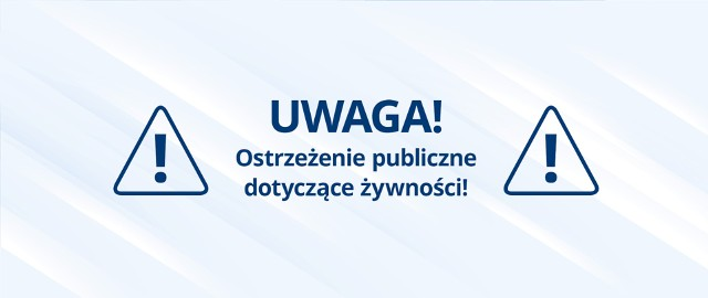 Prewencyjnie wycofanie ze sprzedaży w Polsce produktów marki Colon
