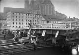 Most staromiejski w Zgorzelcu: Dwukrotnie zniszczony przez powódź i trzykrotnie przez pożary, a na koniec wysadzony wysadzony