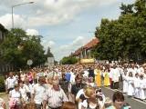 Boże Ciało w Nowej Soli. Tak wyglądała procesja dziesięć lat temu! Ulicami miasta szły tłumy. Zobacz zdjęcia z czerwca 2011 roku