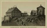 Szczyt Śniezki wyglądał ponad 100 lat temu inaczej. Zobacz drewniane budy, kaplica św. Wawrzyńca i turyści