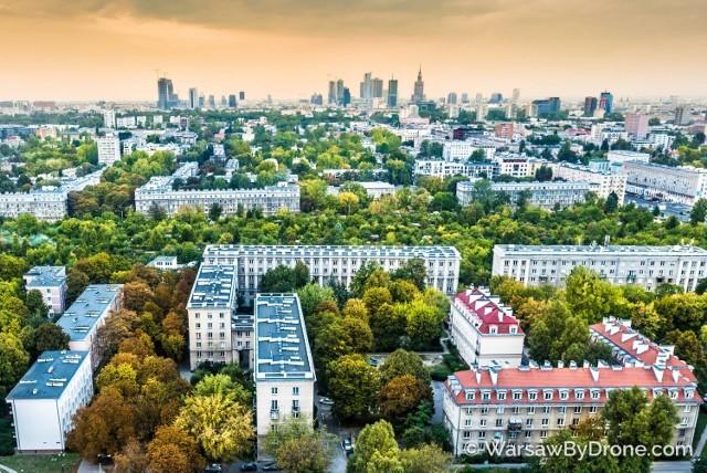 Więcej zdjęć znajdziecie na Facebooku Warsaw by Drone