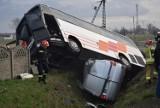 Z regionu. Autobus zderzył się z busem. Wśród rannych kobieta w ciąży