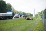 Uwaga! Jeśli jedziecie z Żagania w kierunku Łęknicy, to uważajcie! Był wypadek w okolicach Królowa!