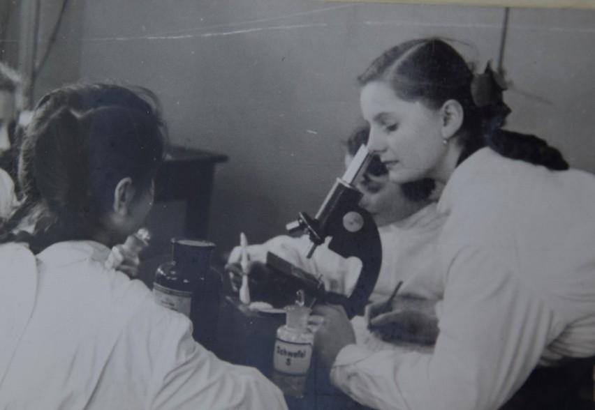 Szkoła w latach 50-tych
