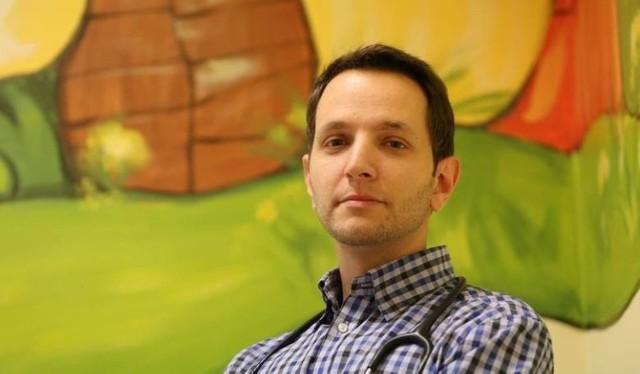 Lekarz Dawid Ciemięga również uległ zakażeniu koronawirusem