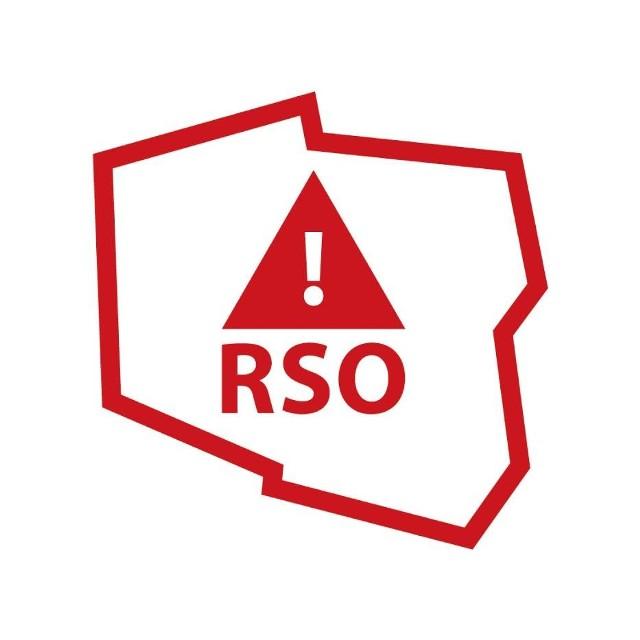 Komunikat RSO w Opolskim generuje wojewódzkie centrum zarządzania kryzysowego.