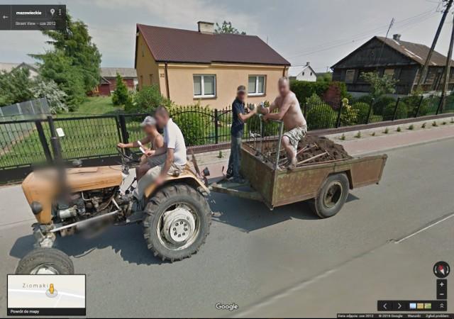 Perełki Google Street View. Najśmieszniejsze, najdziwniejsze, najbardziej absurdalne [ZDJĘCIA]