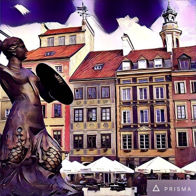 Warszawa w aplikacji Prisma: rozpoznasz wszystkie widoki? [GALERIA]