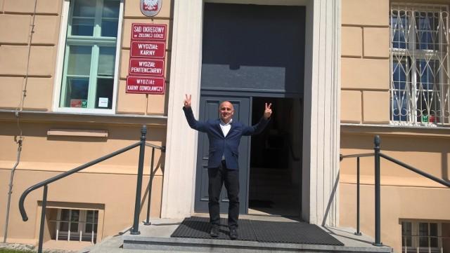 W czwartek po ogłoszeniu wyroku zielonogórskiego sądu Maciej Boryna odetchnął z ulgą.