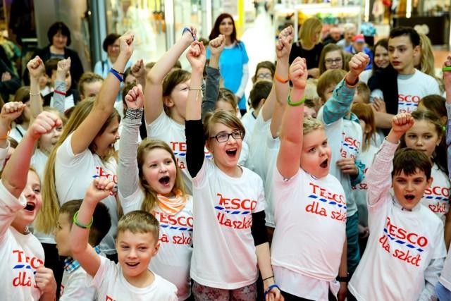 Tesco dla szkół. Dzieci z Łódzkiego wysłały wiadomość do przyszłości!