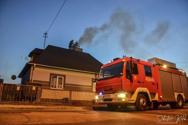 Pożar sadzy na ul. Spokojnej z 15 grudnia 2020 r. | Zdjęcie ilustracyjne