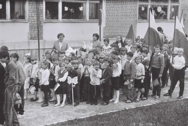 Pochody 1-majowe w Łagowie