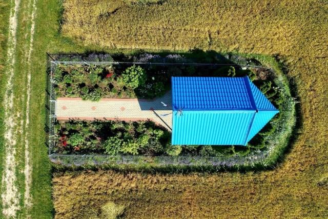 Koźminek leży dokładnie 44 km od Zielonej Góry. Jak pokazuje google maps,dojedziemy do tej wsi w... 44 minuty