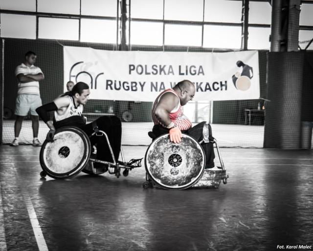 Rugby na wózkach. Ten widowiskowy sport zawita do Karczewa