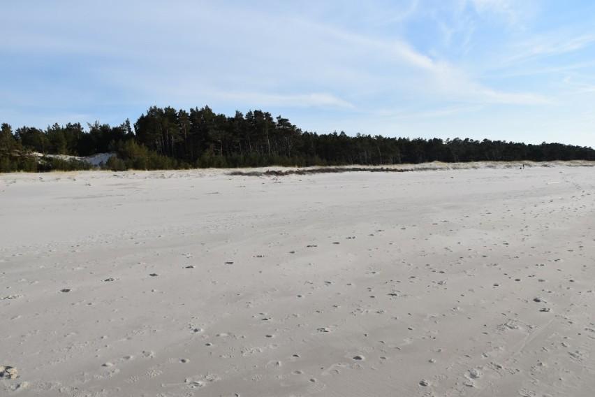plaża w Lubiatowie