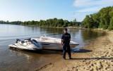Na Jeziorze Żarnowieckim pijany sterował skuterem wodnym i uderzył w motorówkę. Dodatkowo nie miał uprawnień