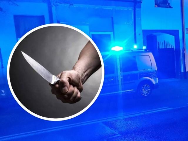 Dźgnięcie nożem na ulicy Królewieckiej we Włocławku?