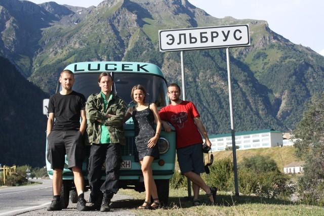 Uczestnicy wyprawy na Krym