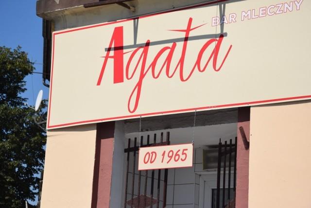 Marzenna Koniuszy pracowała w barze Agata czterdzieści lat!