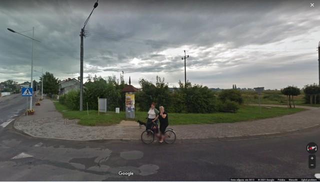 Radziejowianie w Google Street View