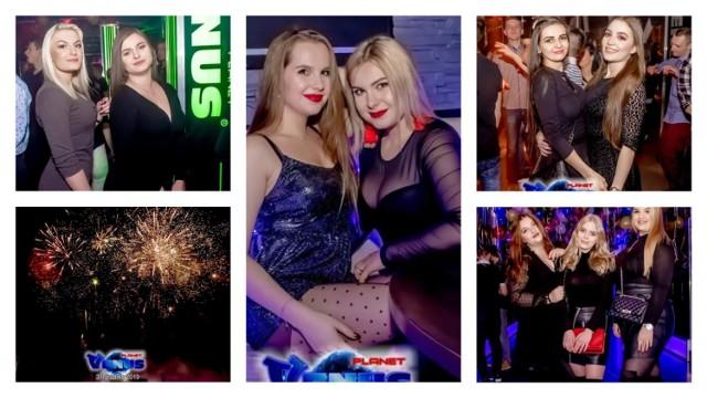 Powitanie nowego roku w Venus Planet