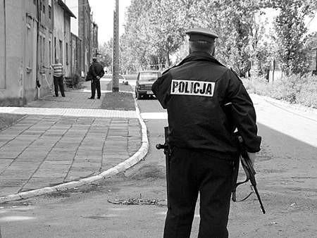 Wczoraj policjanci badali odnalezioną w Ząbkowicach dziuplę z częściami kradzionych samochodów.