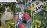 Pałac w Zatoniu, Wagmostaw i centrum Zielonej Góry z lotu ptaka. Te fotografie odbiorą wam mowę