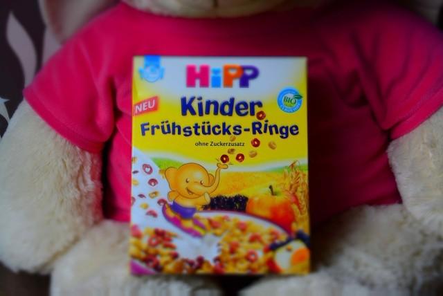 Kinder Frühstücks-Ringe - ten produkt HiPP został wycofany ze sprzedaży
