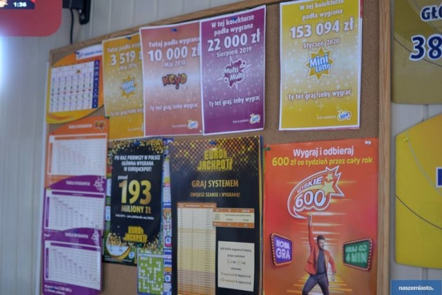 Oto lista najwyższych wygranych lotto w Ciechocinku >>>>>>>>>>>>