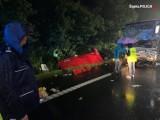 Policja zatrzymała kierowcę, który mógł być sprawcą wypadku pod Gliwicami