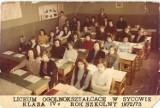 Sycowianie ze szkolnych lat. Zobaczcie wyjątkowe fotografie z redakcyjnych kronik (14.5)