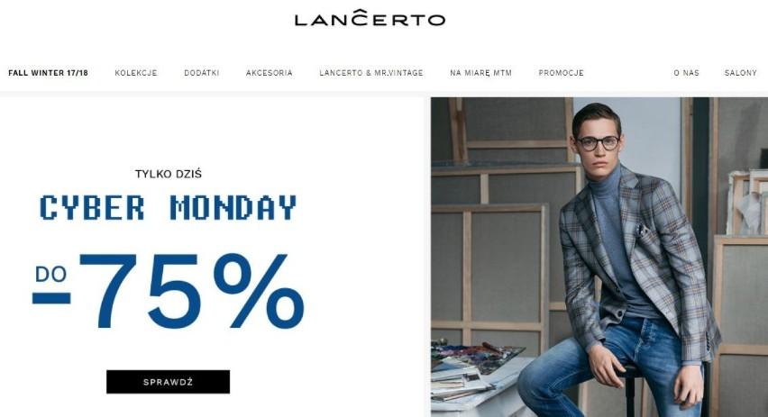Lancerto Cyber Monday 2017