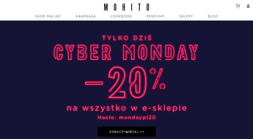 Mohito Cyber Monday 2017