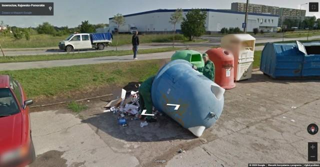 Zobaczcie galerię nietypowych ujęć mieszkańców powiatu inowrocławskiego w kamerach Google Street View >>>>