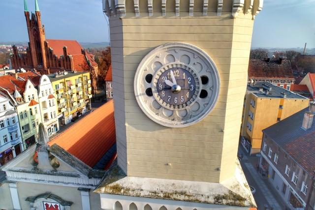 Tak blisko zegara na wieży chyba jeszcze nie byliście?