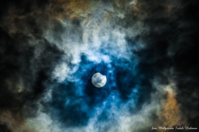 Takie widoki były na niebie w czwartek, 10 czerwca 2021 r.