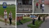 Przyłapani na zdjęciach Google Street View pod Inowrocławiem. Sprawdź, co uchwyciły kamery!