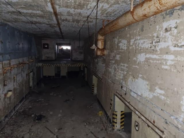 Pozostałości bazy atomowej, która znajduje się niecałe 100 km od Nowej Soli